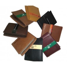 Leather Bi-Fold Wallet For Men
