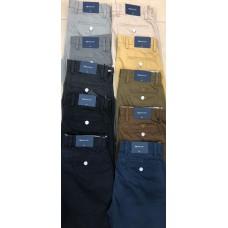 Plain_Straight fit_Cotton_Chinos
