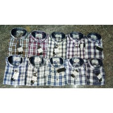 Shirt_Casual _Full Sleeves_ Denim Checks