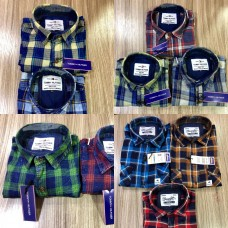 Surplus Indigo Shirts_Casual _Full Sleeves_ Checks