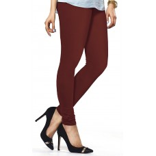 Women's Maroon Lycra Leggings