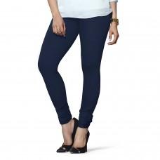 Women's Navy Blue Lycra Leggings