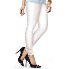 Women's Off White Lycra Leggings