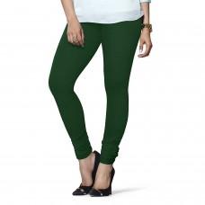 Women's Rama Green Lycra Leggings