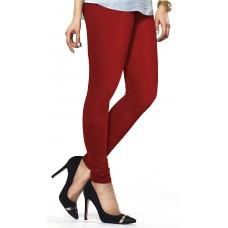 Women's Red Lycra Leggings