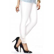 Women's White Lycra Leggings