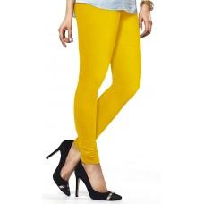 Women's Yellow Lycra Leggings