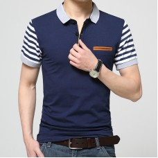 Mens T-shirt navy blue