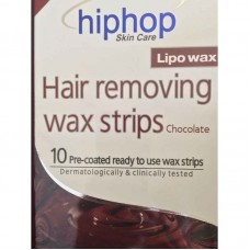 HipHop Chocolate Hair Removing Wax Strips