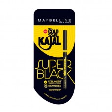 Maybelline New York Colossal Kajal Super Black(0.35gm)